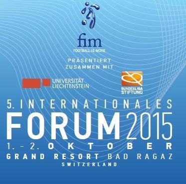 FOOTBALL IS MORE – 5. Internationales Forum 2015