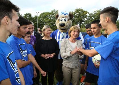 Berliner Bündnis: Willkommen im Fußball