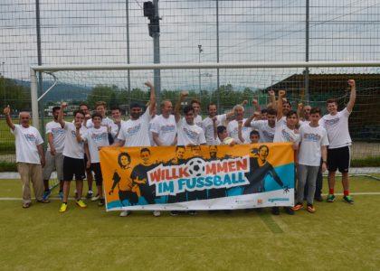 """Willkommen im Fußball"" fördert ""Freunde statt Fremde""-Netzwerk"