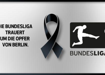 Die Bundesliga trauert um die Opfer von Berlin