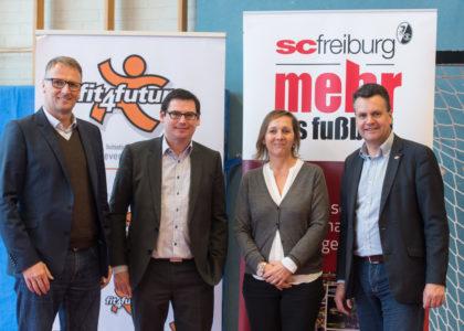 fit4future: Bewegungsworkshop für zwei Freiburger Schulen