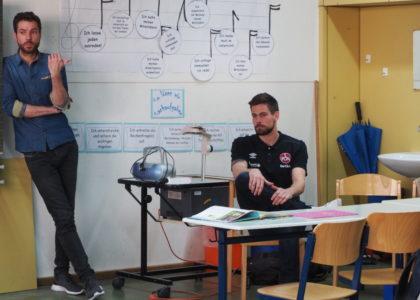 Lesestunde mit FCN-Torwart Thorsten Kirschbaum