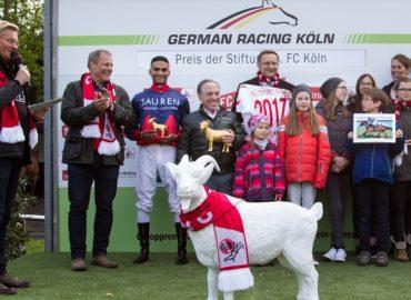 Unterstützung für die 1. FC Köln Stiftung