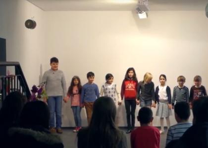 "Theaterstück des Projekts ""play; fair! spiel; fair!"""
