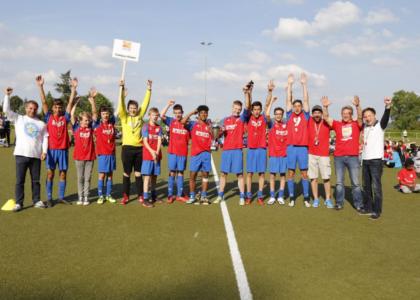 Fußballmeisterschaft der Kinder- und Jugendhilfe