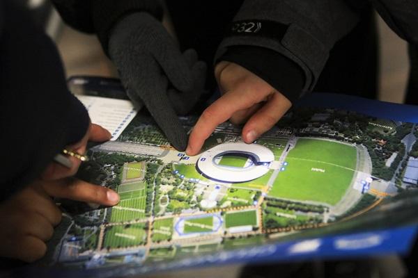 Lernort Stadion, Lernort e.V., Bundesliga Stiftung, Berlin, Olympiastadium, Hertha, Olympic Stadium, Fussball, Football, Alexa Vachon, Workshop, Kinder
