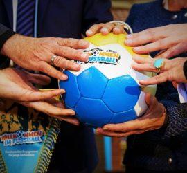 """Aktionstag """"Willkommen im Fußball"""""""