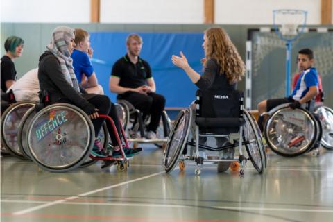 """Zweite """"Paralympische Woche"""""""