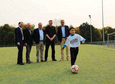 """Düsseldorfer Bündnis """"Willkommen im Fußball"""" vorgestellt"""