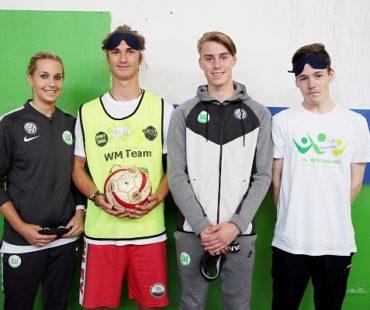 Blindenfußball © VfL Wolfsburg