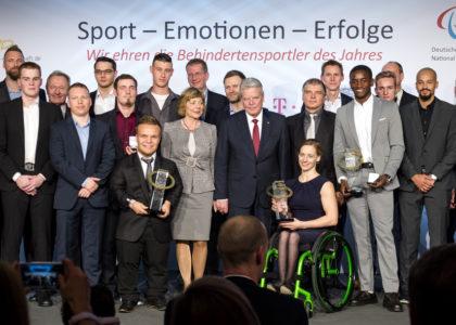 Behindertensportler 2017 in Köln geehrt