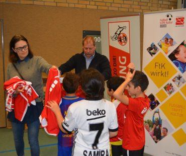 """Kölner Kinder profitieren von """"Fußball trifft Kultur"""""""