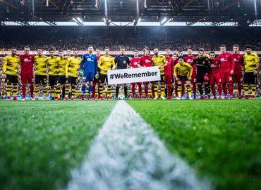 """""""!Nie wieder"""" – Deutscher Profifußball gedenkt der Opfer des Nationalsozialismus"""