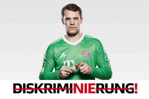 Strich durch Vorurteile – Spot mit Manuel Neuer
