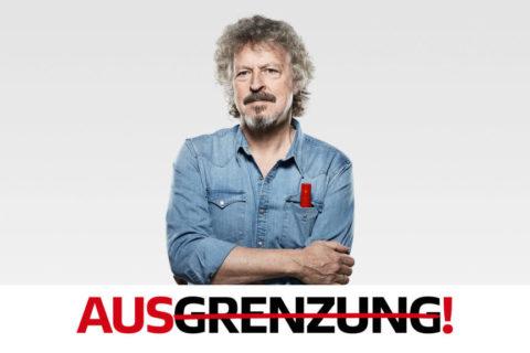 Strich durch Vorurteile – Spot mit Wolfgang Niedecken