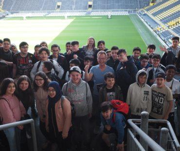 Stadionlesung Dortmund