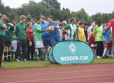 Zwei Tage lang Fußball beim Werder-Cup