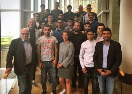 """""""Willkommen im Fußball"""" meets Düsseldorfer Landtag"""