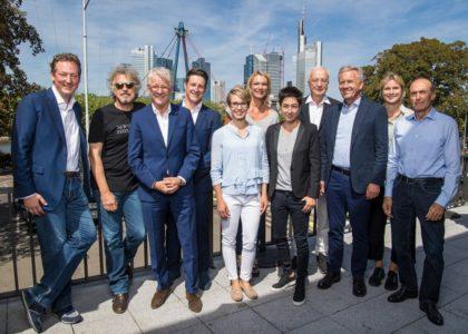 Neunte Kuratoriumssitzung in Frankfurt