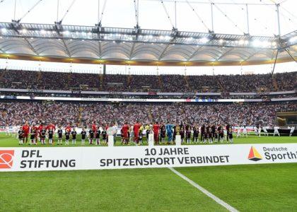 Supercup im Zeichen der Partnerschaft zwischen Profifussball und Stiftung Deutscher Sporthilfe