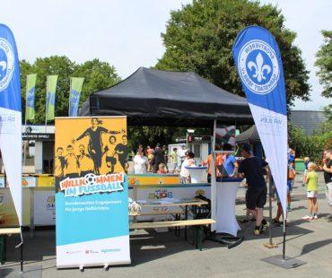 Willkommen im Fußball-Aktionstag in Darmstadt