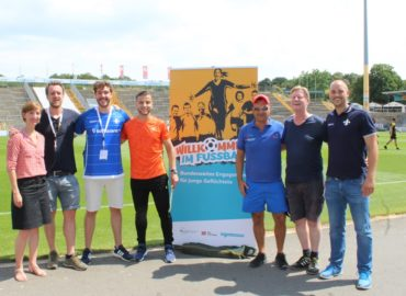 """""""Willkommen im Fußball""""-Aktionstag in Darmstadt"""