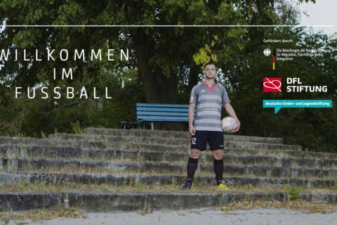 """""""Willkommen im Fußball"""" in Darmstadt – Porträt über Hisham Jameel"""