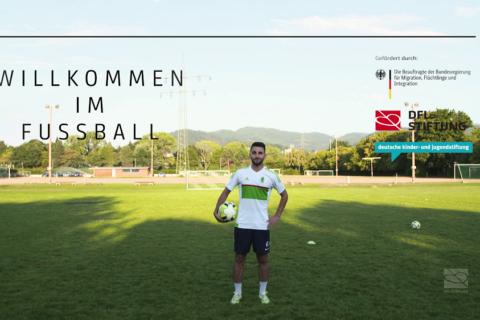 """""""Willkommen im Fußball"""" in Freiburg – Porträt über Yazan Hoshmi"""