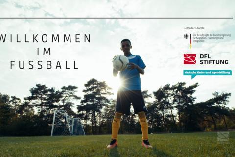 """""""Willkommen im Fußball"""" in Nürnberg – Porträt über Ibsa Hussen"""