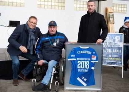 Weihnachtsaktion beim 1. FC Magdeburg