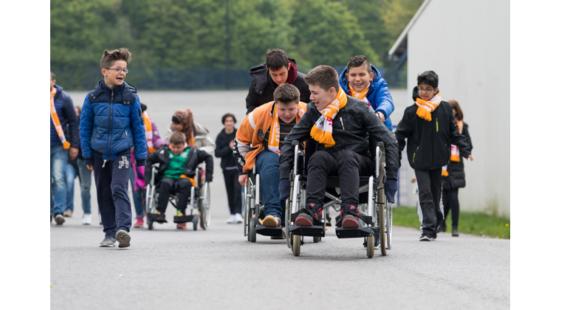 Kick off Paralympische Woche