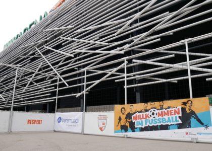 Streetsoccer-Turnier in der WWK-Arena