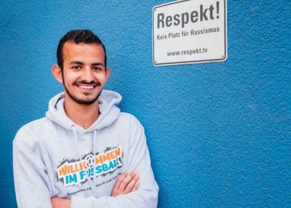 """Teil 1/3: Saleh aus dem Mainzer """"Willkommen im Fußball""""-Bündnis"""
