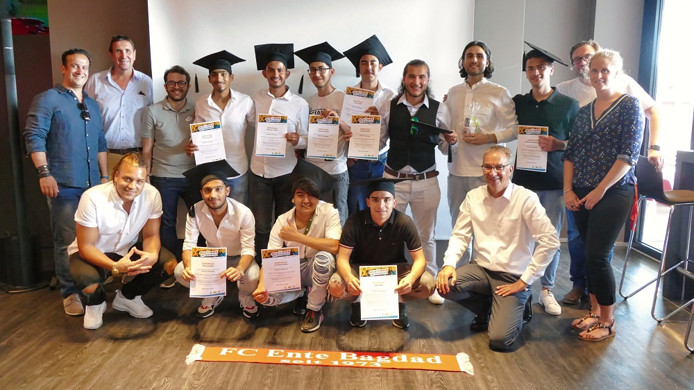 Akademische Feier des Berufsorientierungskurses in Mainz