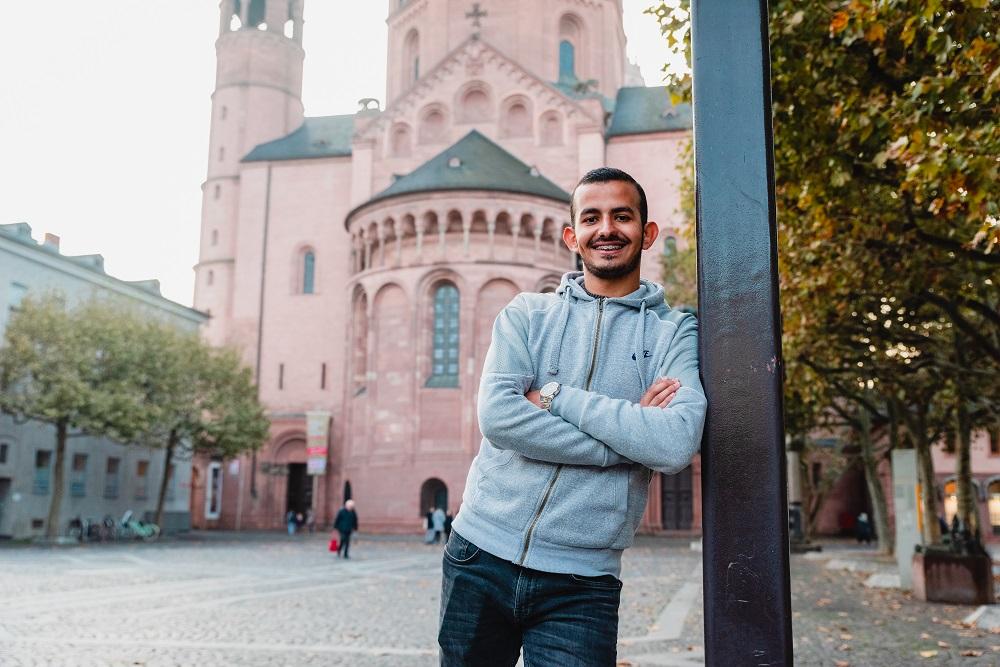 """Teil 3/3: Saleh aus dem Mainzer """"Willkommen im Fußball""""-Bündnis"""