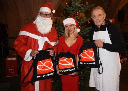 DFL Stiftung unterstützt Weihnachtsgans-Essen für Obdachlose